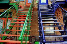 Escaliers de Montréal – © Luba Markovskaia