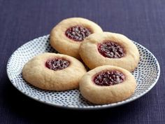 Butter and Jam Thumbprints