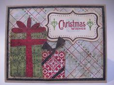 Christmas card #cricut