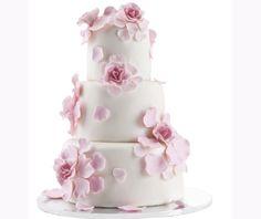 Personalized Cake Topper Personalized Wedding Cake Topper Bridal Shower Cake Topper First Names Cake Wedding Cake Fresh Flowers, White Wedding Cakes, Cool Wedding Cakes, Wedding White, Monogram Cake Toppers, Personalized Wedding Cake Toppers, Marzipan Rose, Cake Albums, Wedding Cake Decorations