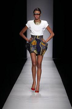Christie Brown Arise Africa Fashion Week | Flickr - Photo Sharing!