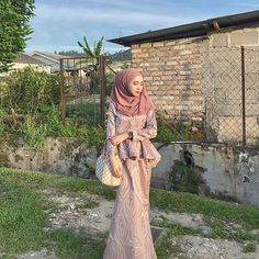 The Journey of The Beautiful Hijab Girl Kebaya Modern Hijab, Kebaya Hijab, Kebaya Dress, Kebaya Muslim, Hijab Prom Dress, Hijab Evening Dress, Prom Party Dresses, Hijab Outfit, Muslim Gown