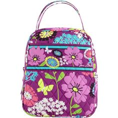 Vera Bradley Lunch Bunch in Flutterby ($24) ❤ liked on Polyvore featuring home, kitchen & dining, food storage containers, accessories, flutterby, lunch bags, lunch bag, lunch thermos, brown lunch bags and vera bradley lunch bag