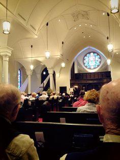 "First Presbyterian Church in Birmingham, Alabama read Dr. King's ""Letter From Birmingham Jail."""