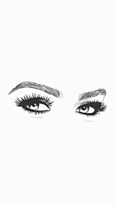 Save this pin to see later. Tumblr Wallpaper, Screen Wallpaper, Wallpaper Backgrounds, Makeup Illustration, Woman Drawing, Instagram Highlight Icons, Eye Art, Aesthetic Wallpapers, Cute Wallpapers
