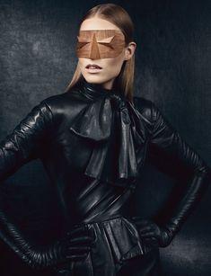 """Vogue UK. September 2012, """"New Noir"""""""
