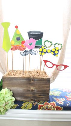 We offer a wide selection of handmade beautifully painted wooden photo booth props such as mustaches, eye glasses, lips etc. We offer the highest quality designs and craftsmanship.