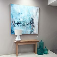 The bold and impactful 'Enshrine' makes a statement in this simple vignette by The Living Room Tas
