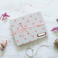 Handmade baby album Wedding Album GirlChristening by DaniFoxBooks