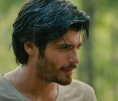 Turkish Men, Turkish Actors, Hair And Beard Styles, Long Hair Styles, Long Hair Beard, Latin Men, Vogue Men, Man Bun, Gorgeous Men