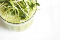 Sunflower-Sprout Smoothie, Wholeliving.com