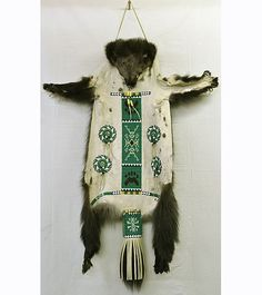 Wolverine Ceremonial Robe - Kevin Fast Horse