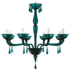 Italian Venetian Murano Glass Chandelier   From a unique collection of antique and modern chandeliers and pendants at https://www.1stdibs.com/furniture/lighting/chandeliers-pendant-lights/