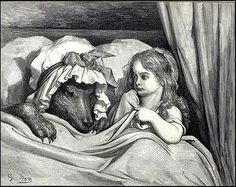 http://www.atlasobscura.com/articles/31-days-of-halloween-day-of-wolves-and-men-and-delicious-little-girls   we still maintain an instinctual fear of the Big Bad Wolf.