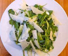 low carb side dishes - Shaved Asparagus With Manchego Cheese