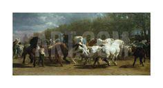 The Horse Fair Premium Giclee Print by Rosa Bonheur at Art.com