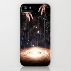 The Greatest Puppeteer iPhone & iPod Case by Paula Belle Flores - $35.00