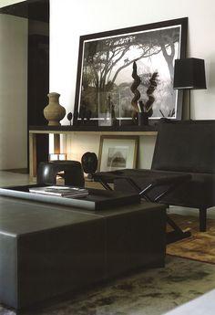 Christian Liaigre | Black | Interior | Design