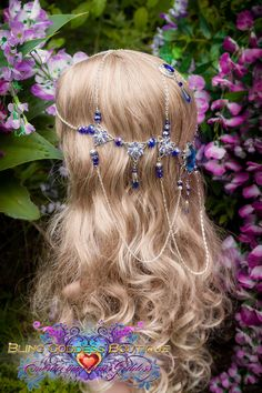 Mayflower Goddess Circlet II Fantasy Hair, Fantasy Jewelry, Headpiece Jewelry, Hair Jewelry, Fairytale Hair, Hair Sketch, Circlet, May Flowers, Hair Ornaments