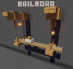 Minecraft Bauwerke, Minecraft Statues, Minecraft Structures, Cute Minecraft Houses, Minecraft Medieval, Minecraft House Designs, Amazing Minecraft, Minecraft Construction, Minecraft Tutorial