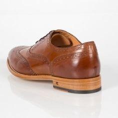 Paul Smith Men's Tan Leather 'Christo' Brogues