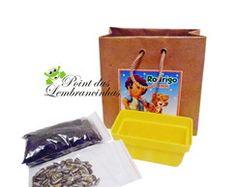 kit jardinagem ecológico kraft