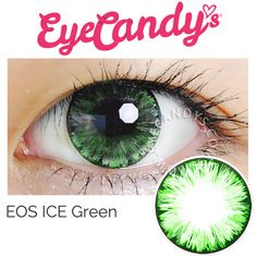 EOS ICE Green Cosmetic color contact lens                                                                                                                                                     More