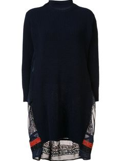 Shop Proenza Schouler flared sweater dress.