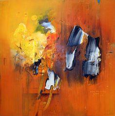 "Wang Yan Cheng. ""Mélodie emportée par la trame"" (2003). Tomado de http://web.artprice.com"