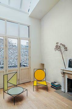 Marion Mailaender interior architecture Exterior Design, Interior And Exterior, Furniture Decor, Furniture Design, Graphic Design Pattern, Living Spaces, Living Room, Gio Ponti, Contemporary Design