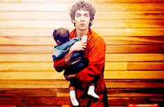 """I think I've just seen Nathan stealing a baby"" #Nathan"