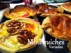Cocina Varoma: Mini quichés variados