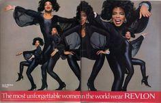 The Most Unforgettable Women in the World Wear Revlon.....
