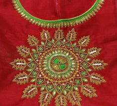 Embroidery Fashion, Hand Embroidery, Aari Work Blouse, Best Blouse Designs, Stitching, Tapestry, Blouses, Kids, Dresses