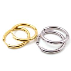 Find More Hoop Earrings Information about New Arrival Fashion Gold Plated Earrings Stainless Steel Hoop Earrings Jewelry Simple Earrings for Women Brincos Bijouterie,High Quality earrings dog,China earrings fringe Suppliers, Cheap earrings owl from MSX Fashion Jewelry on Aliexpress.com