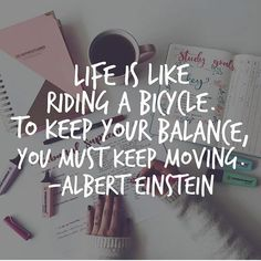 you must keep moving ★·.·´¯`·.·★