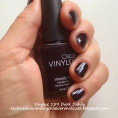 Klub Nieanonimowych Lakieroholiczek: Vinylux 159 Dark Dahlia