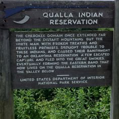 Cherokee Indian Reservation, NC- Came here with my grandparents as a little girl :)