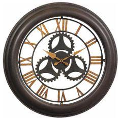 Galen Bronze Clock