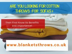 How Shop for Cotton Throws For Sofas VIA Online?  Well to shop for the cotton…