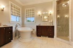 Jude Dream Home by L. Contractors featuring the Virage Bath Collection by Brizo. Real Estate Photography, Virtual Tour, Corner Bathtub, Jr, Collection, Home, Ad Home, Homes, Haus
