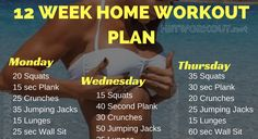 Whether your goal is to lose weight, gain muscle or get fit check out our men's and women's workout plans!