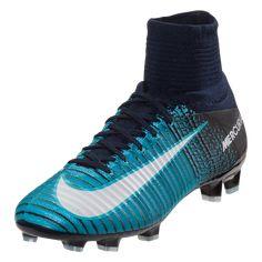 2f75b0ed3 Buy Nike Junior Mercurial Superfly V FG Kids Soccer Cleat - Thunder  blue Glacier Blue