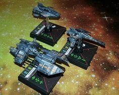 x-wing miniatures repaint, props