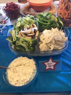 Gymnastics Birthday, Birthday Parties, Party Ideas, Chicken, Food, Anniversary Parties, Birthday Celebrations, Essen, Ideas Party