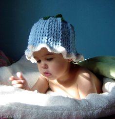 PDF Blue Bell Hat CROCHET PATTERN No 036 by JTeasycrochet on Etsy
