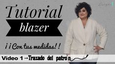 Patrón de chaqueta mujer blazer Diy Clothes, Jackets, Youtube, Fashion, Jacket Pattern, Old Tee Shirts, Black T Shirt, Dress Patterns, Sewing Tutorials