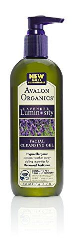 Avalon Organics Lavender Luminosity Facial Cleansing Gel 7  Ounce Bottle *** Learn more by visiting the image link.