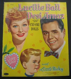 I Love Lucy — Lucille Ball & Desi Arnaz with Little Ricky