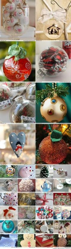 Christmas Ornaments DIY by sillyme2